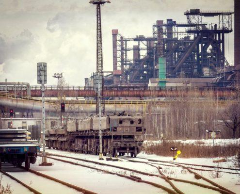 LIBERTY - série zimních fotografií
