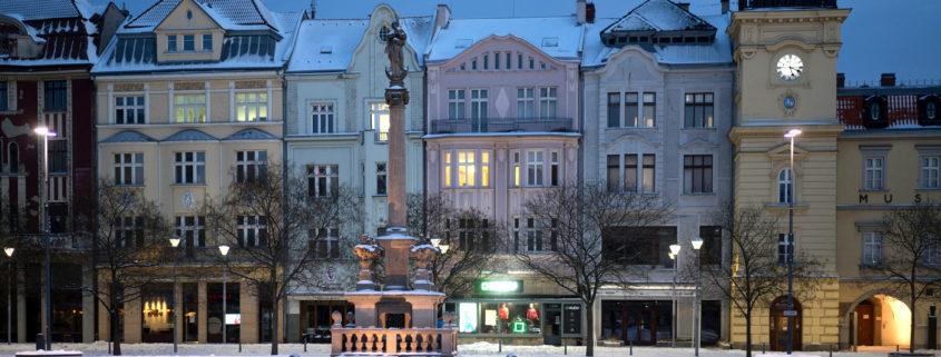Ostrava snow