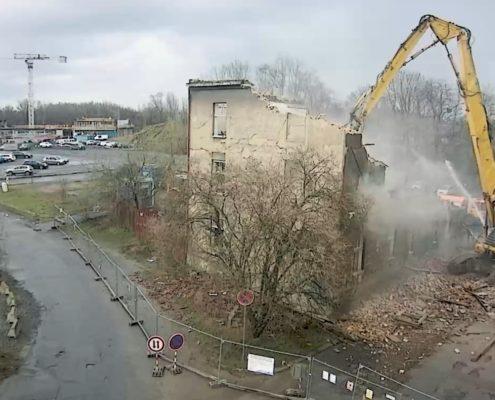 Demolice Žofínksá, Ostrava